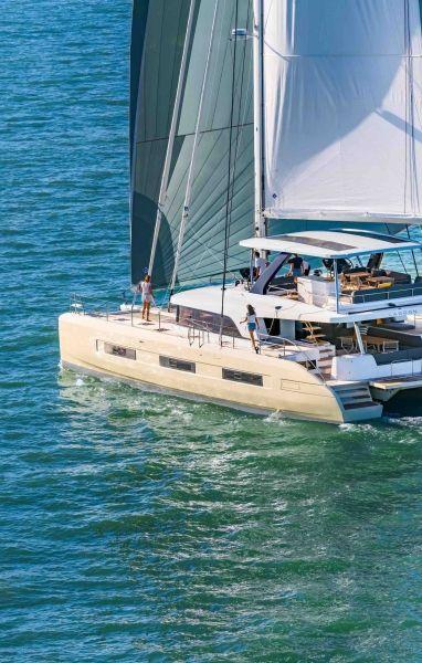 Gestion de embarcacion Charter -Catamaran Lagoon