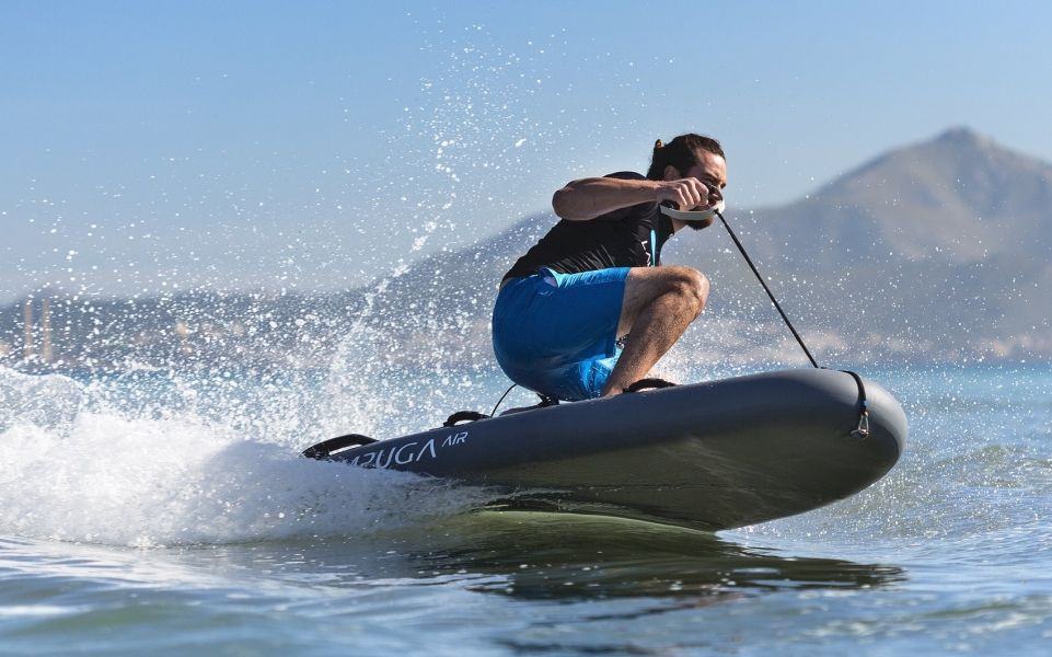 LAMPUGA AIR - Tabla de Jet Surf eléctrica