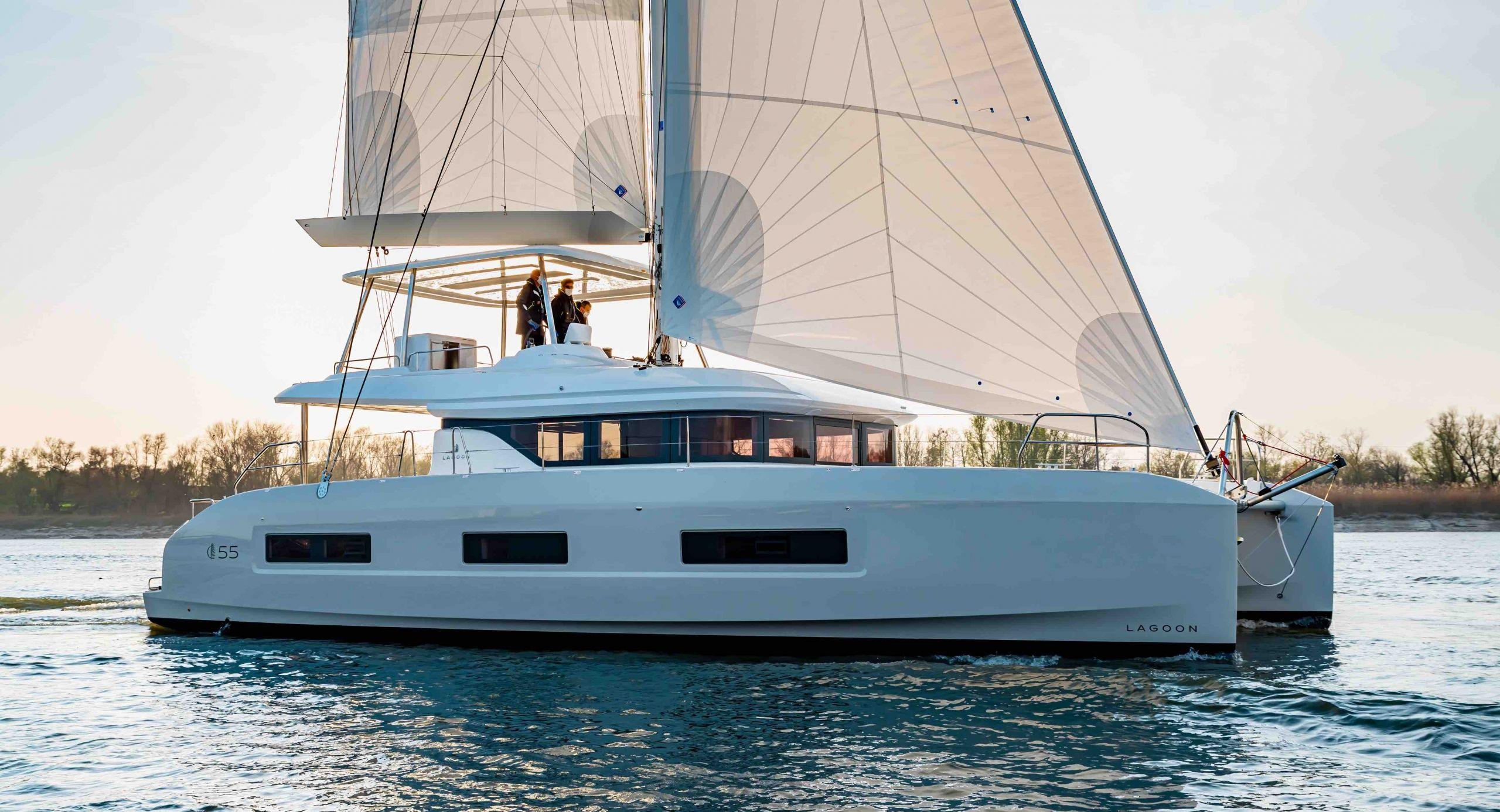Lagoon catamaran - Lagoon 55 -Venta de catamaran