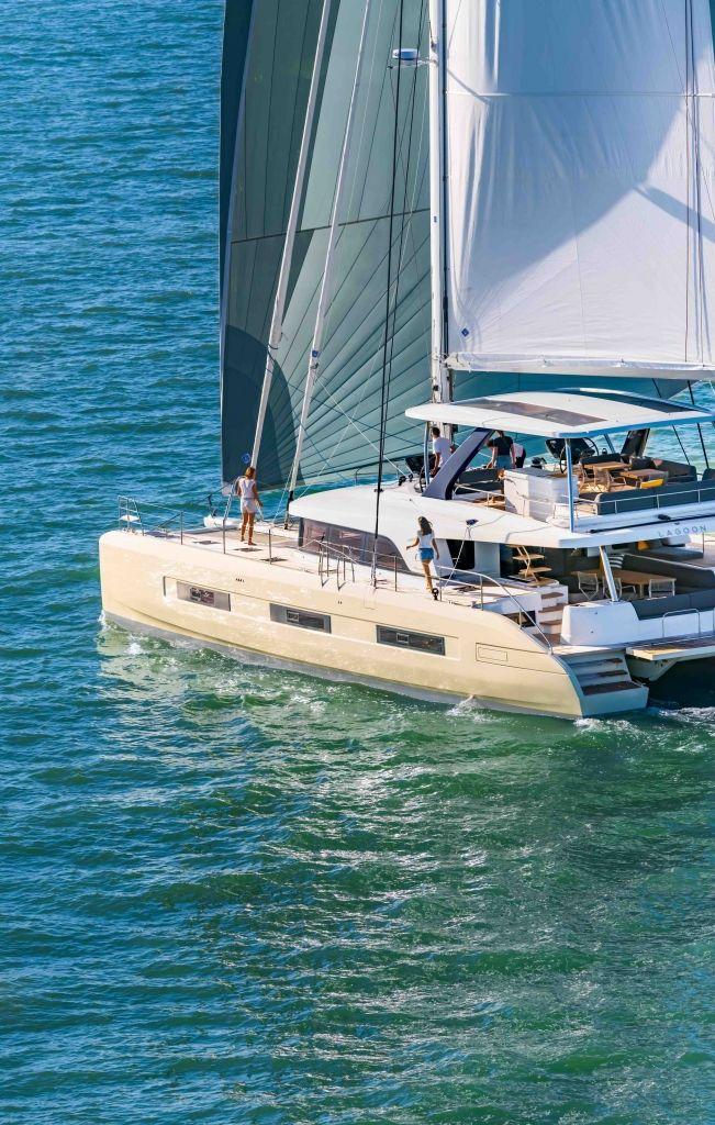 Yacht Charter Management - Catamaran