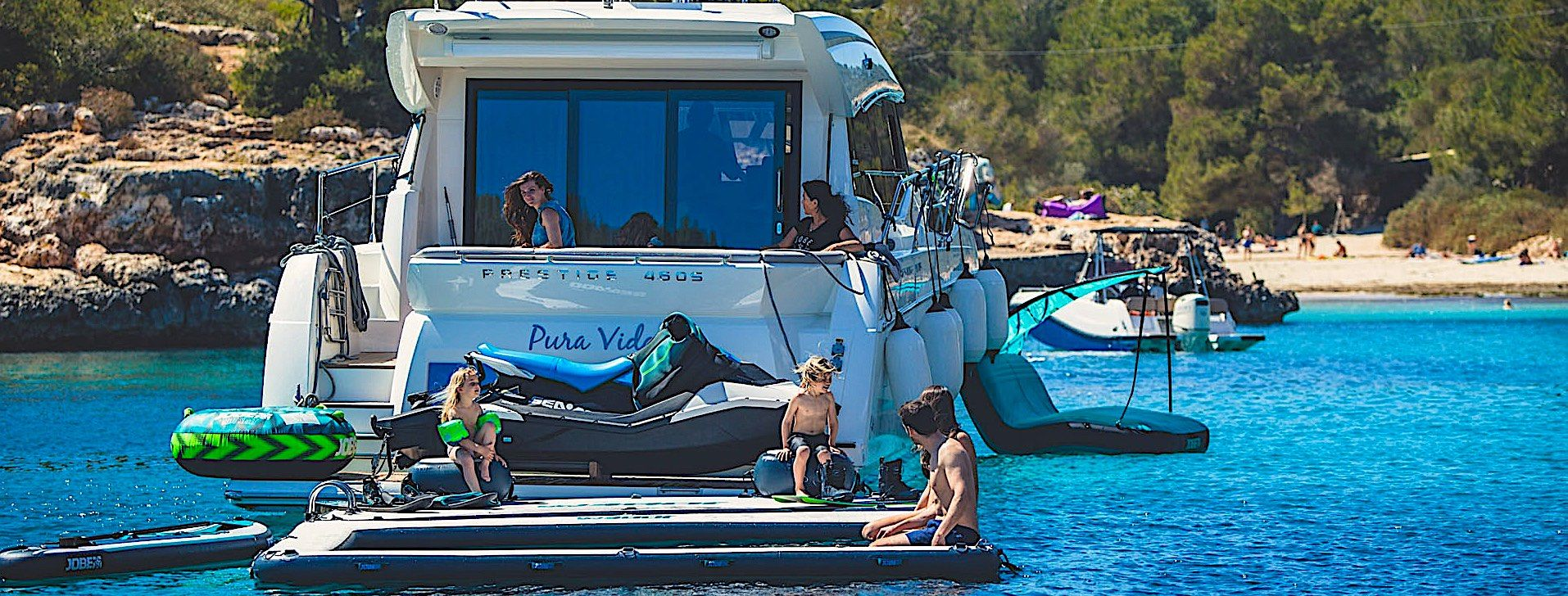Yacht extension de Platform Pool extention - Yacht Toys & Water Sports Equipment
