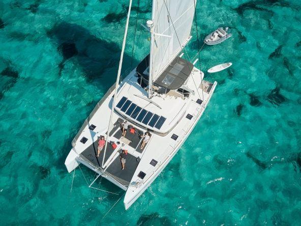 Catamaran Lagoon 52 charter Ibiza
