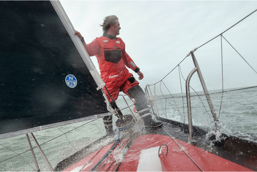 Yannick Bestaven, winner of the 2020-2021 Vendée Globe, godfather of the NEEL 43. The world leader in cruising NEEL trimarans, is happy and proud to have French engineer and sailor Yannick Bestaven as godfather for its latest boat the NEEL 43.